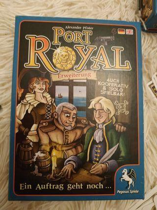 Juego Port Royal Erweiterung
