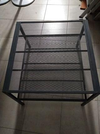 Mesa auxiliar TV metal Ikea