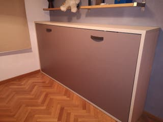 Cama abatible + mesa escritorio