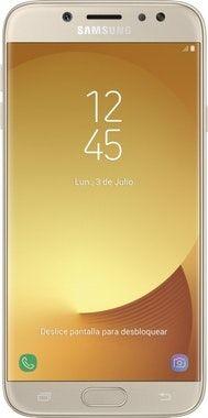 Vendo 2 móviles j7 2017 dorados negociable