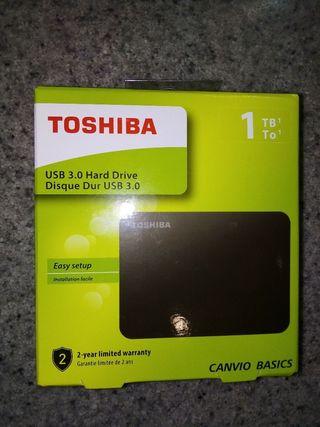 DISCO DURO 1TB TOSHIBA CANVIO BASICS