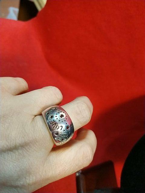 anillo plata original Tous
