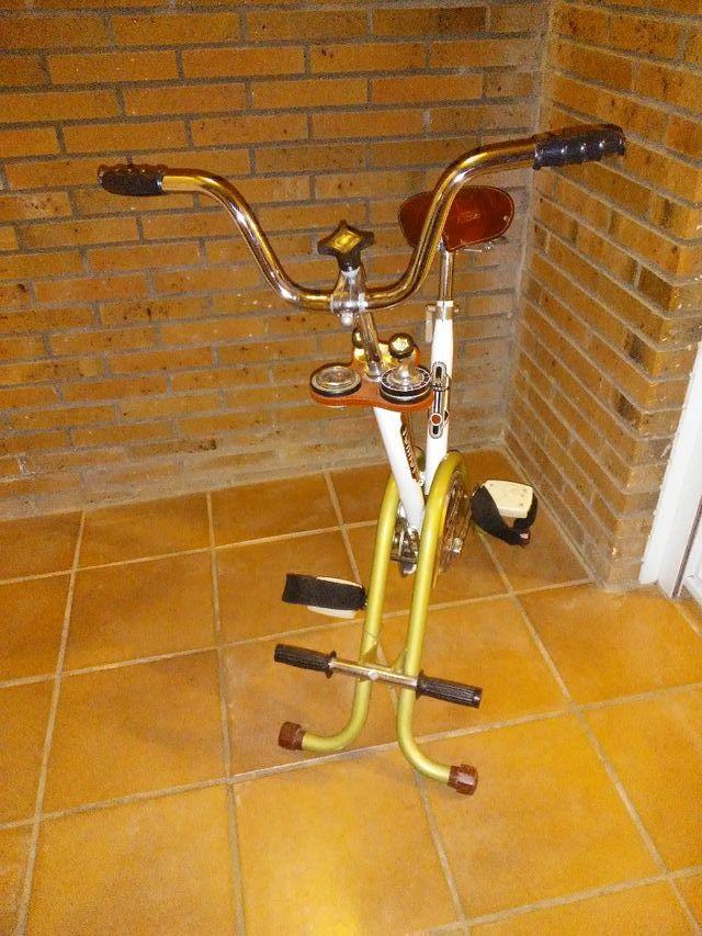 Bicicleta estática vintage