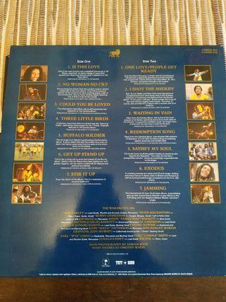 Vinilo Legend - Bob Marley 1984
