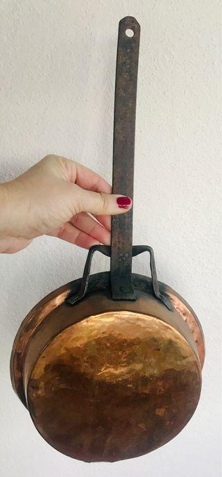 Sartén cobre