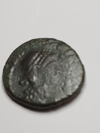 Moneda romana de Valentinianus II