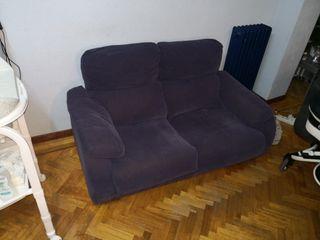 sofá azul ganga