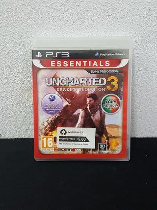 Juego Uncharted 3 traicion De Darke PS3