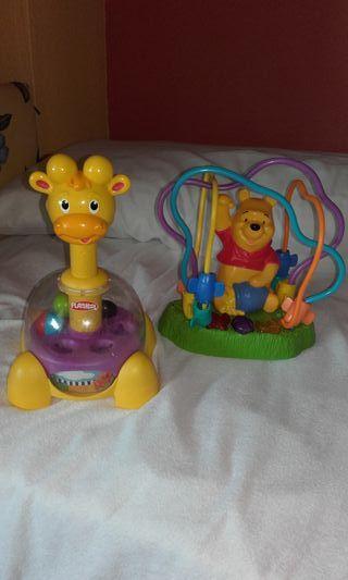 2 juguetes Playskool
