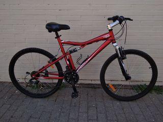 Bicicleta Rockrider Doble Suspensión