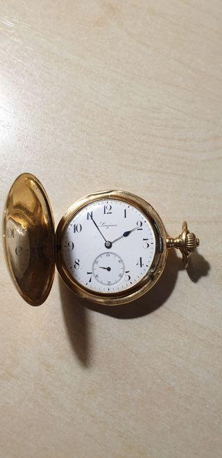 Reloj longines de oro de 1903