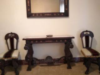 Muebles recibidor antiguos