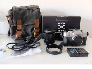 Kit cámara Fujifilm XT10 + Objetivo Fujinon 16-50
