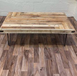 Handmade pallet coffee tables