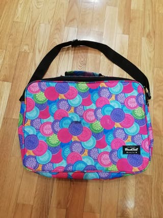 mochila maletin multicolor