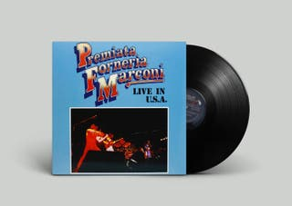 Premiata Forneria Marconi Live In U.S.A. - Bras