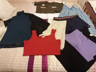 lote 10 piezas ropa mujer