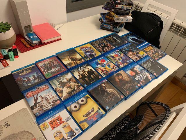 Blu-Ray 3D + 20 películas blu rays (muchas 3D)