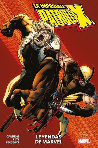 Cómic Leyendas de Marvel: La Patrulla-X