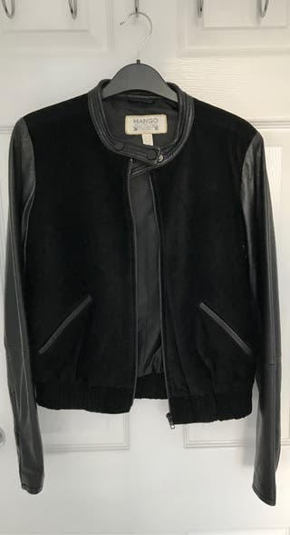 Mango - Leather/Suede Jacket - XS/6