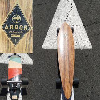 Arbor Timeless longboard