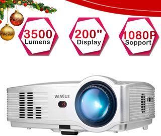Proyector 3500 lumenes full hd Home cinema