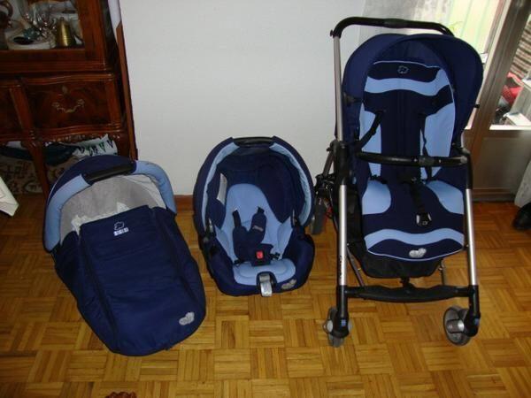 Trio Streety en azul