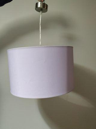 Lámpara de techo lila
