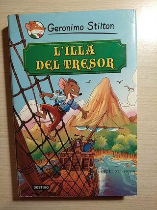 Libro L'illa del tresor