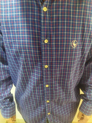 Camisa Ganso azul