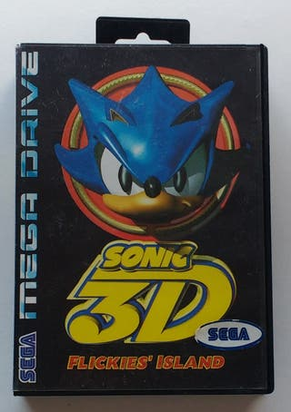 Sonic 3D SEGA Mega Drive