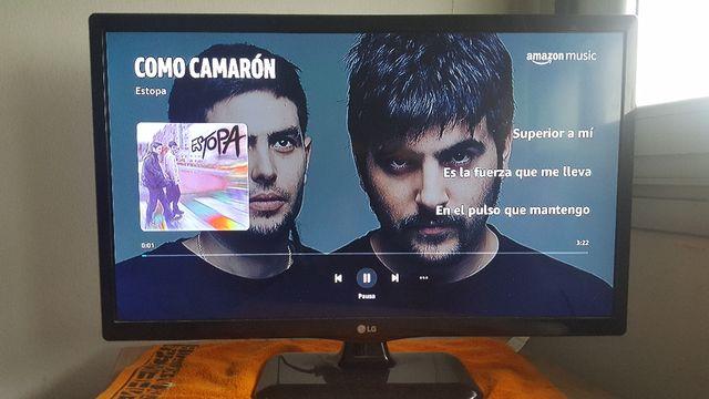 Amazon Fire stick TV con Alexa integrada mando voz