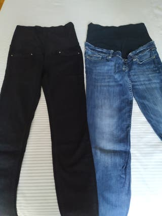 Lote de 2 pantalones premamá
