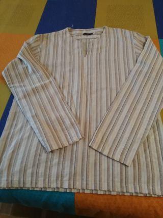 camisa-casaca talla L grande