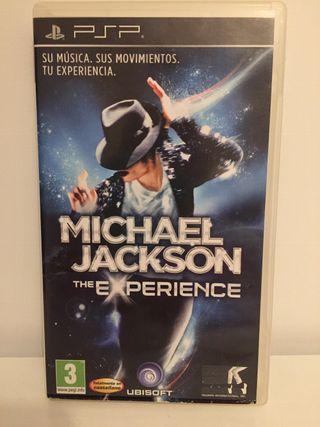 MICHAEL JACKSON-THE EXPERIENCE-/-PSP SONY