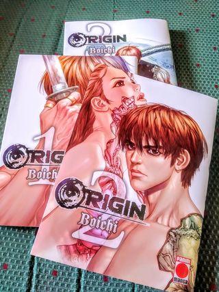 Pack 3 tomos Origin, de Boichi. Sólo JUNTOS