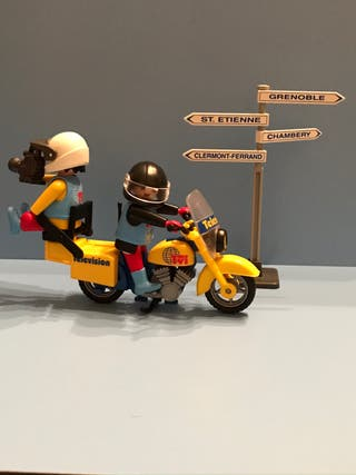 Playmobil Moto Tv Ref: 3847
