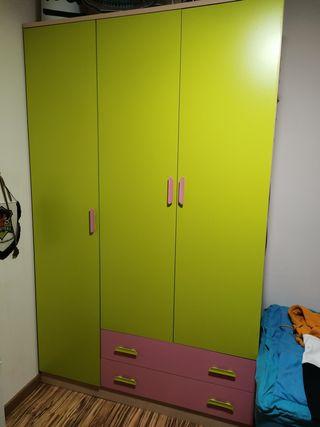 Armario infantil 3 puertas