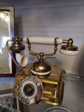 TELÉFONO AUTÉNTICO ANTIGUO AÑOS 1920 FUNCIONANDO