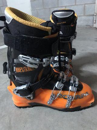 Botas esquí de Travesia scarpa maestrale