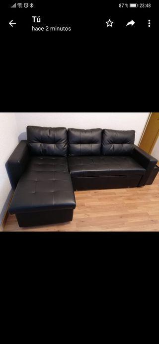 sofá cama cheislongue canapé