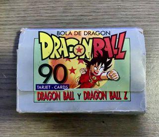 Colección de cartas DRAGON BALL. 1989