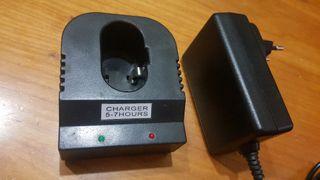 cargador baterias 5-7 horas