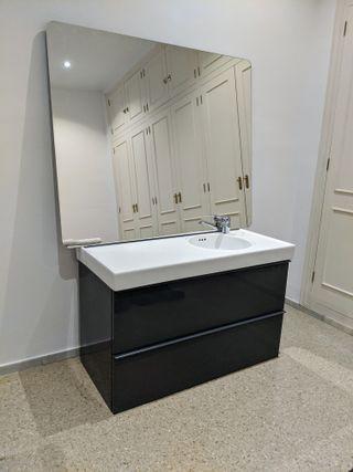 Conjunto mueble baño (+espejo), poco uso