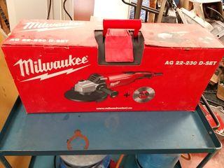 Amoladora Angular Milwaukee AG 22 230