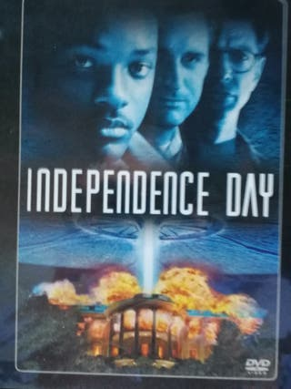 Independence day, DVD.