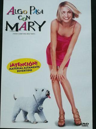 Algo Pasa con Mary, DVD.