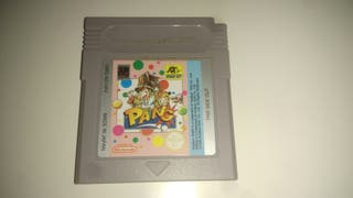 juego PANG game boy en su caja original