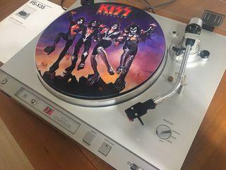 TOCADISCOS SONY PS-X35 mas discos Lp. + ampli