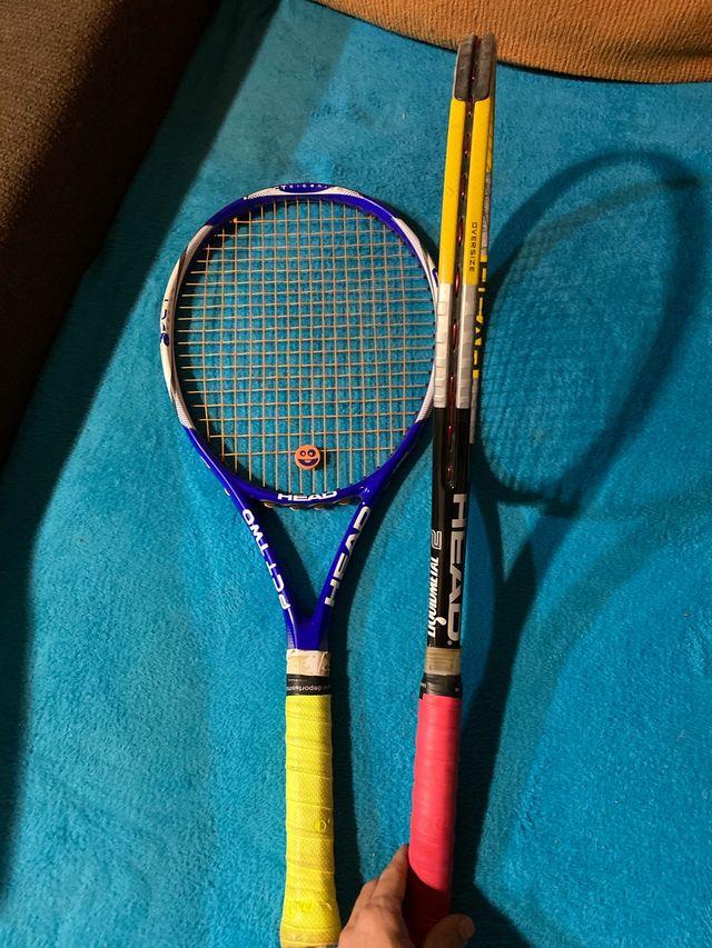2 raquetas Head